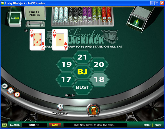 Bet365 Blackjack